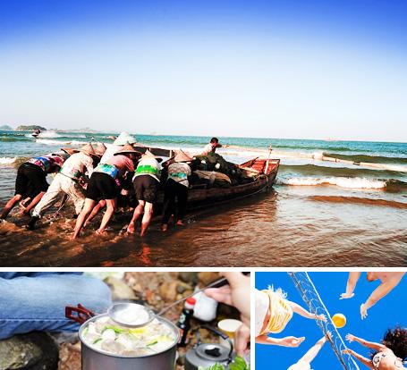 嵊泗列岛澳门银河官方赌场-团建旅游  给我一段时光,还你沙滩、海岸的畅爽