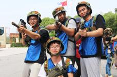野战真人CS+团队建设,团队作战,携手并进