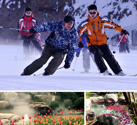 大明山滑雪-云瀾灣溫泉2日游 冬季圣誕等你來滑雪