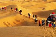 腾格里沙漠3天2晚,沙漠改造+羊皮筏子