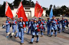 金寨革命老区3天2夜公益行 重走红军路-体验红色革命