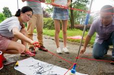 创意型团建活动 让团队士气核爆炸——浦江源主题团建