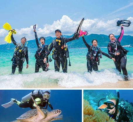 潜水秘境 探索蓝海团建