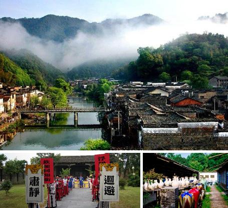 景德镇+瑶里古镇3天2夜游 赏瓷之源 茶之乡 林之海